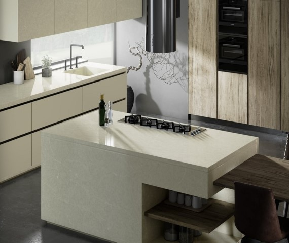 Style your Kitchen with Cosentino's New Silestone Silken Pearl in 2020