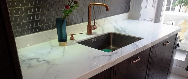 Calacatta Oro from Italy by My Kitchen Worktop