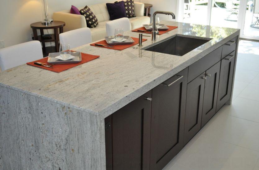 river-white-granite-worktops