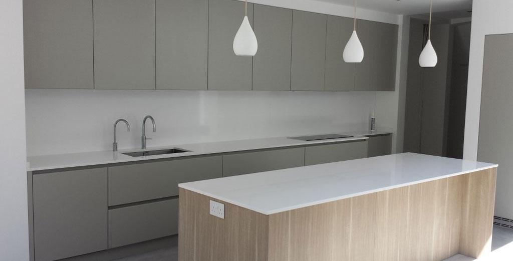 Silestone Blanco Zeus Quartz for Kitchen Worktops