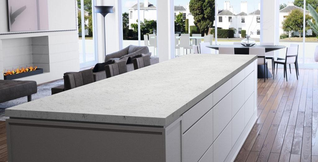 Compac Carrara Glace quartz
