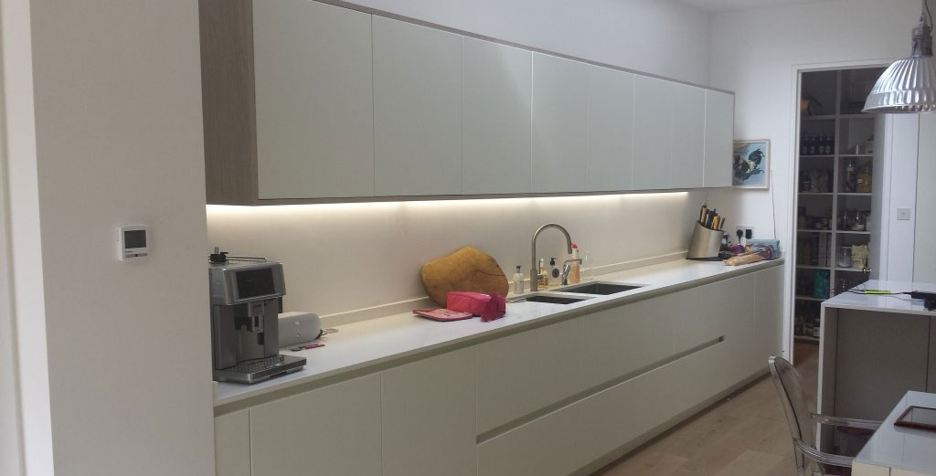 Silestone Blanco Zeus Kitchen Worktops