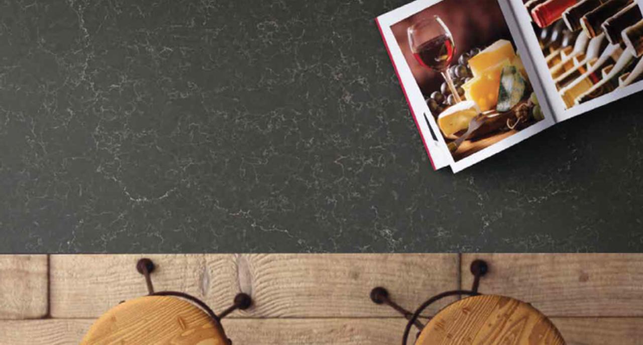 Caesarstone Piatra Grey Kitchen Worktops 2