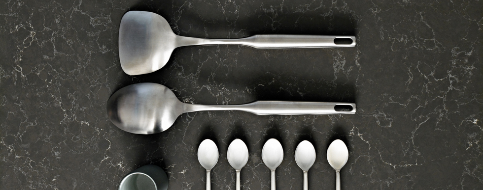 Caesarstone Piatra Grey Kitchen Worktops 3