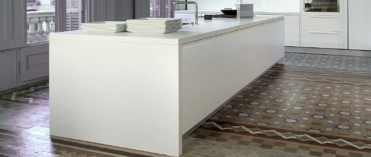 silestone miami white kitchen