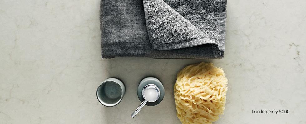 Caesarstone London Grey Kitchen Worktop 5