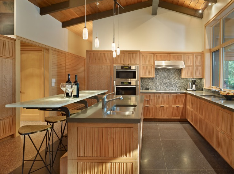 Silestone Gris Expo Kitchen Worktops by Finne Architects