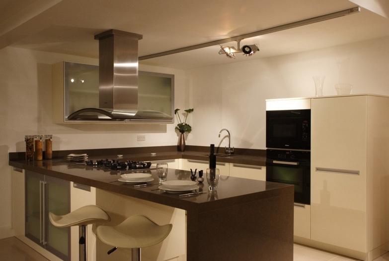 4350 Caesarstone Mink Kitchen Worktops