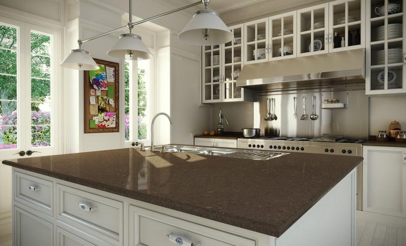 4360 Caesarstone Wild Rice Kitchen Worktops