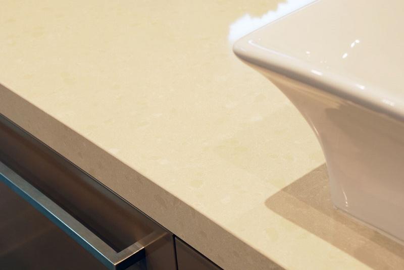 Caesarstone Buttermilk Kitchen Worktops