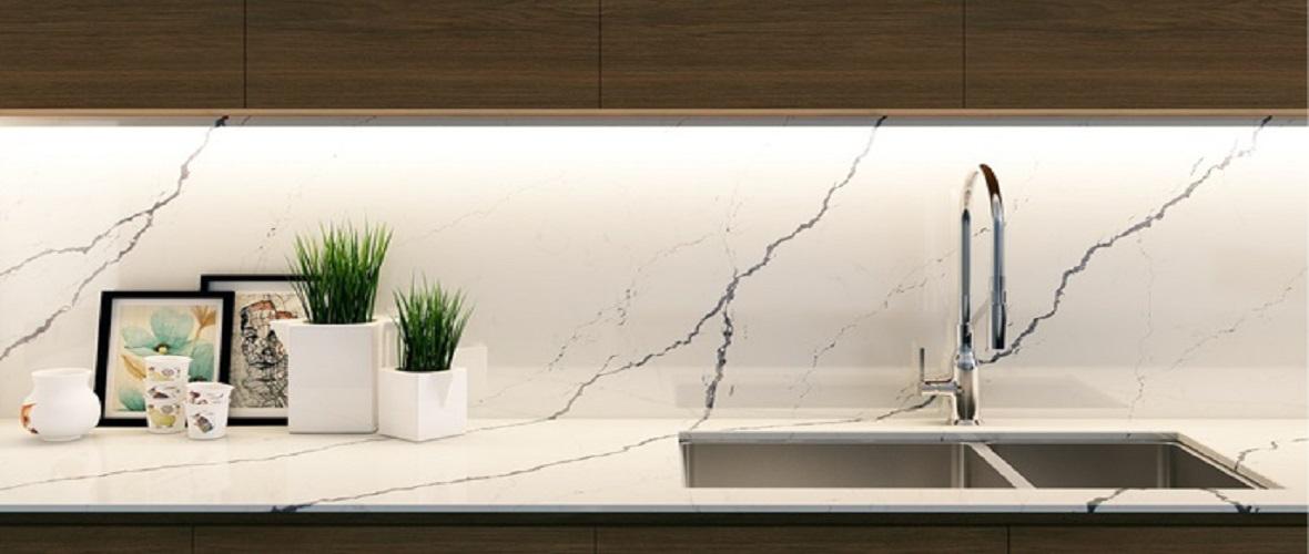 Carrara Venatino kitchen worktop