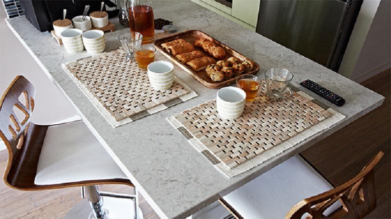 Caesarstone Bianco Drift Table Top