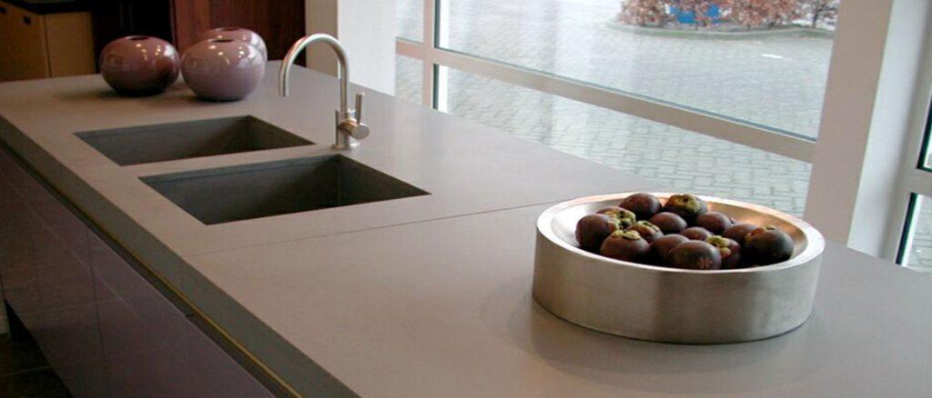 2003 caesarstone quartz concrete grey kitchen worktops 4