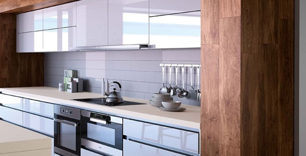 Compac Absolute Blanc Glace Kitchen Worktops