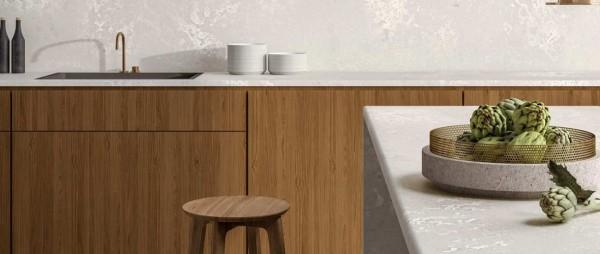 Caesarstone Cloudburst Concrete honed worktops e1530083878899