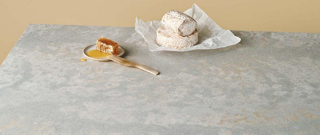 caesarstone primordia quartz table top