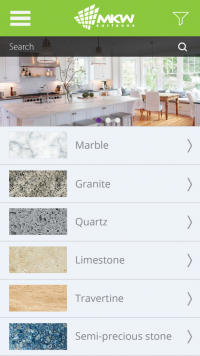 My Kitchen Worktop Android and iOS app