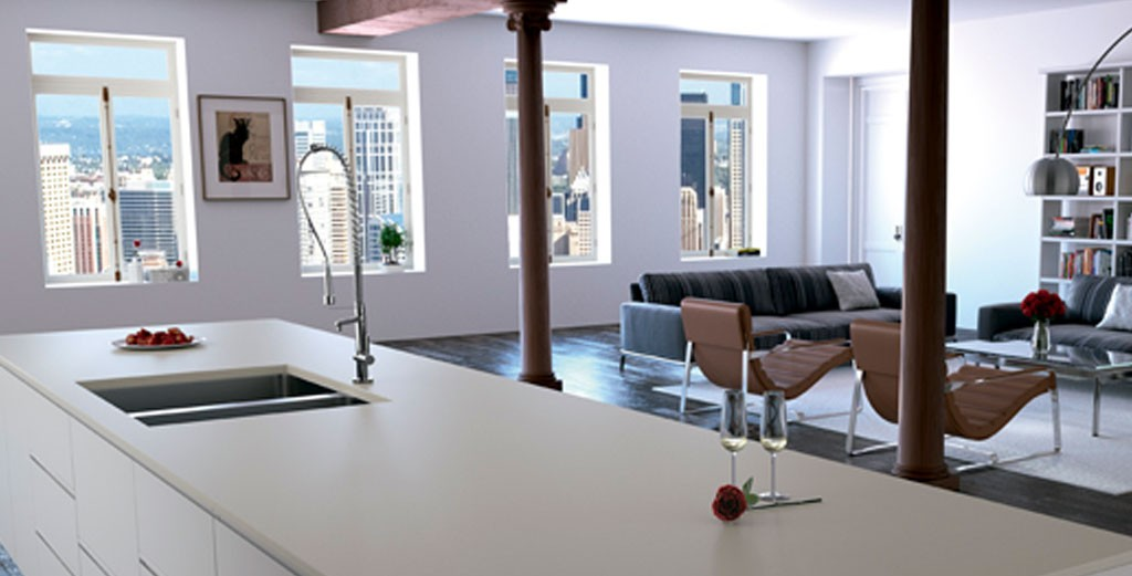 Compac-Gray-Zement-quartz-kitchen-worktops
