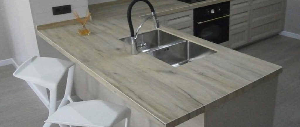 laminam legno venezia sabbia kitchen worktops