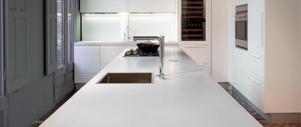 Silestone Classic White quartz