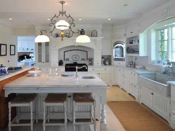 Katharine Hepburn's Connecticut kitchen's worktop