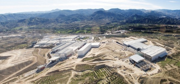 newly launched Dekton factory by Cosentino in Spain