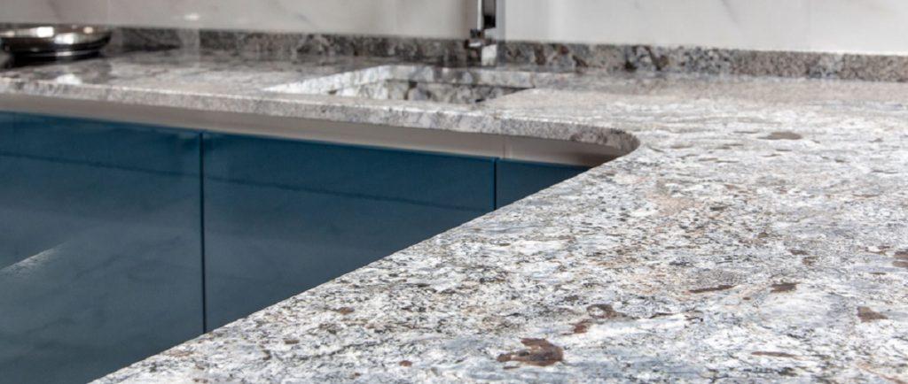 Bianco Macchiato granite worktops