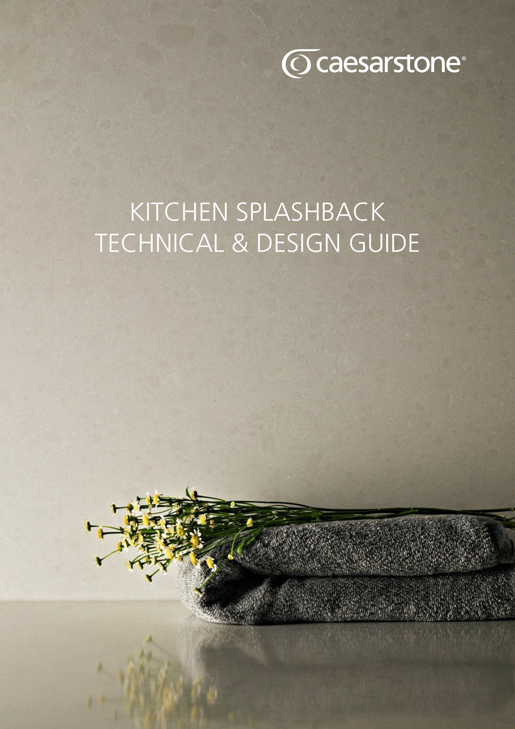 Caesarstone Kitchen Splashbacks Guide