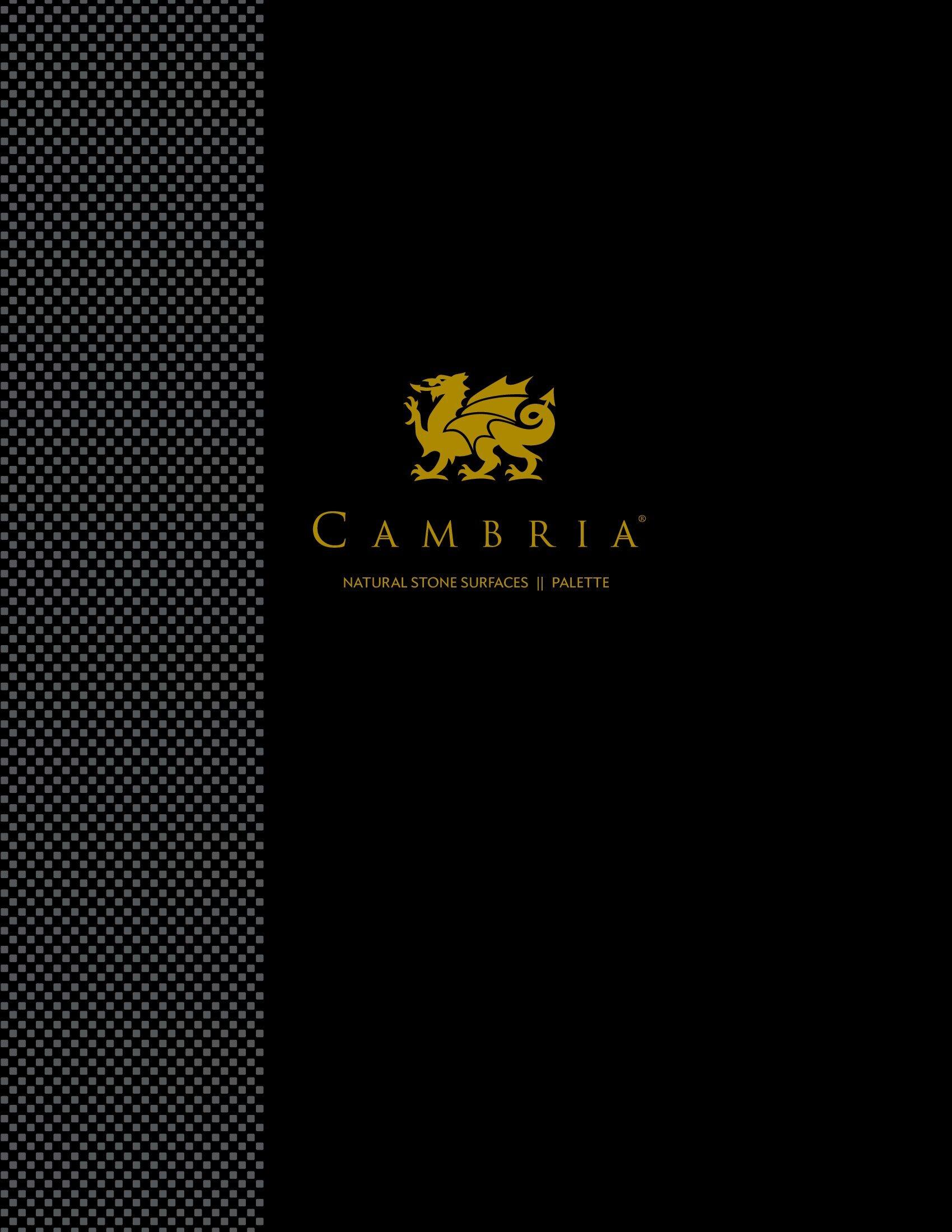 Cambria Quartz Palette 2018