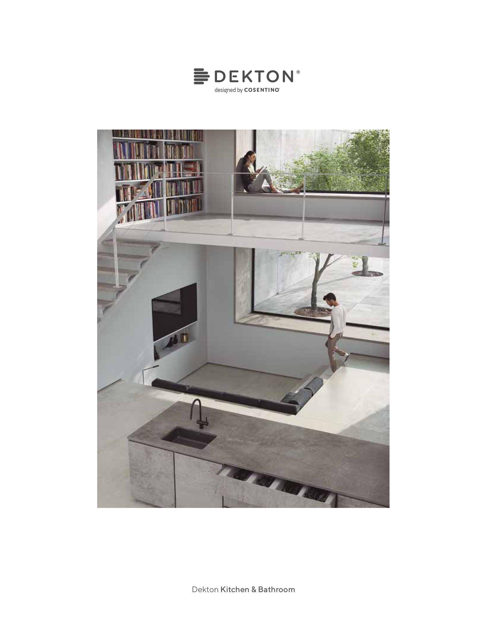 Dekton Kitchens Bathrooms 2019