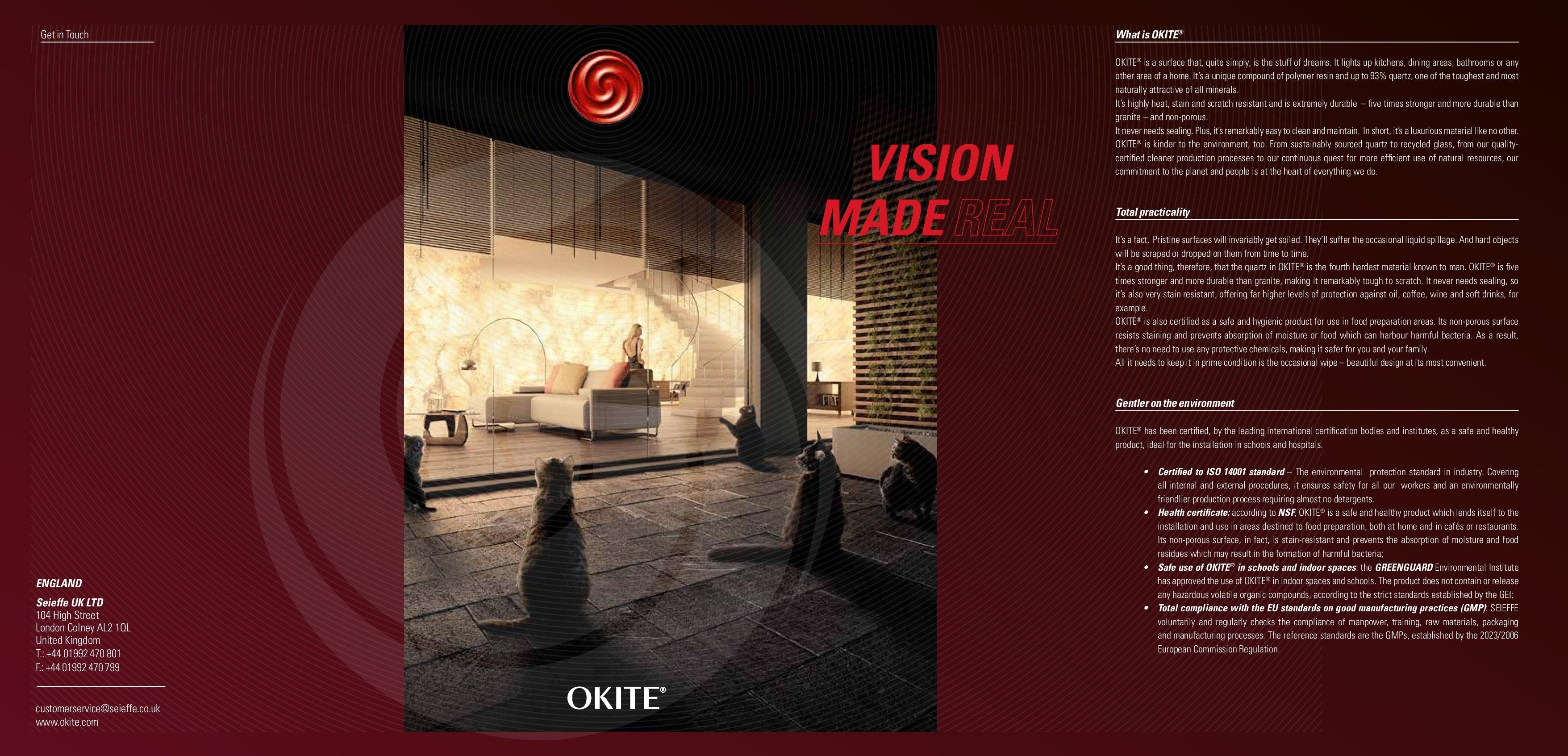 OKITE Quartz Brochure